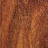 Natural Mahogany DL412 Uniclic Laminate 10mm w/attached underlayment
