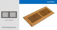 Teragren Floors Vents
